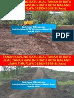 Tanah Kavling Batu Jual Tanah Di Batu Jual Tanah Kavling Batu Kota Malang Jawa Timur,Wa 083834366818