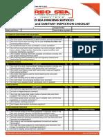 11. Food Safety, Sanitation, And Hygiene Checklist