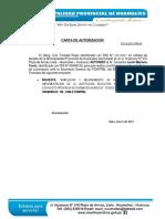 Carta de Autorizacion Foniprel Llata