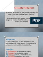El Tahuantinsuyo