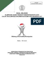 1.SoalOSK2016InformatikaKomputer