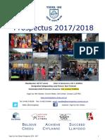 prospectus 2017 2018 ysgol iau hen golwyn