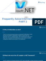 Dot Net Interview Questions and Answers Part II