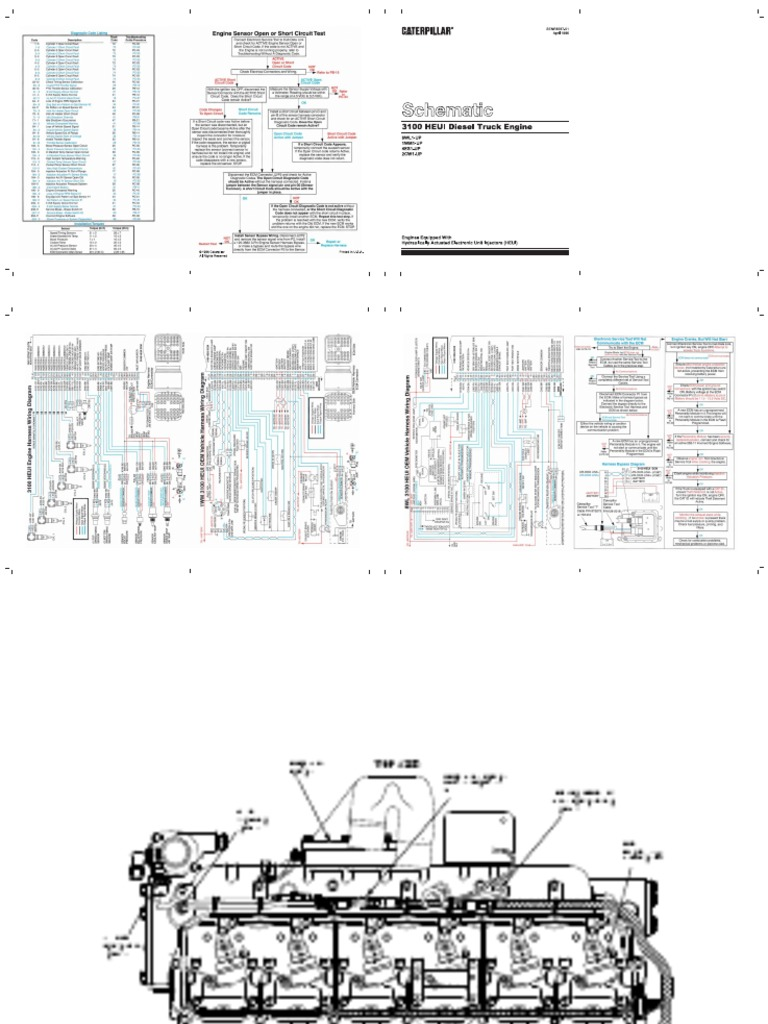 60065067-CAT-3126-Eletric-Diagrama1.pdf | Fuel Injection ...