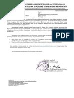 Surat Permintaan Data Prestasi Akademik