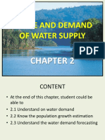 Bab 2 Usage and Water Demand (Cont.)