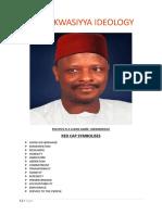 Kwankwasiyya Lagos Chapter Releases Kwankwasiyya Ideology