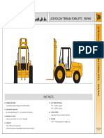 JCB 930-940 Spec Sheet
