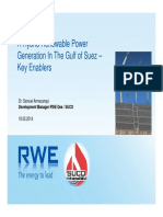 Hybrid Renewable Power Generation Feasibility in the GOS - Key Enablers
