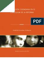 Tercer Libro Formación Ciudadana en el Curriculum de la Reforma