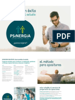 Psinergia Coaching Opositar Con Exito