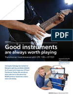 CPC 100 CP TD 1 Article Good Instruments Are Always Worth Playing OMICRON Magazine 2015 ENU