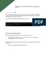 Upgrading OracleAS 10g 10.1.3.5