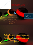PP Penginputan Data