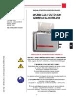 Micro 0.25 0.3 i Outd Installer Manual Es Reva m000007ae