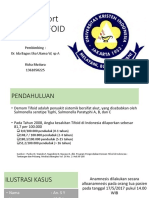 [Ppt]-Case Report Demam Tifoid - Rizka Mutiara - 1361050225