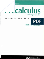 Precalculus With Trigonometry