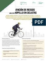 Prevencion de Riesgos de Atropello en Ciclistas