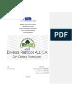 Proyecto Envases Plásticos ALL, C.A