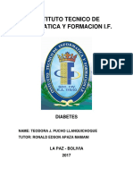 Formato de Informe Diabetes