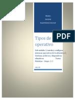 Tipos de Sistemas Operativos(1)