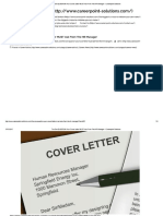 The One QUESTION Your Cover Letter MUST Has