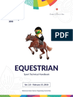 Equestrian Technical Handbook, the 18th Asian Games_28Feb2018