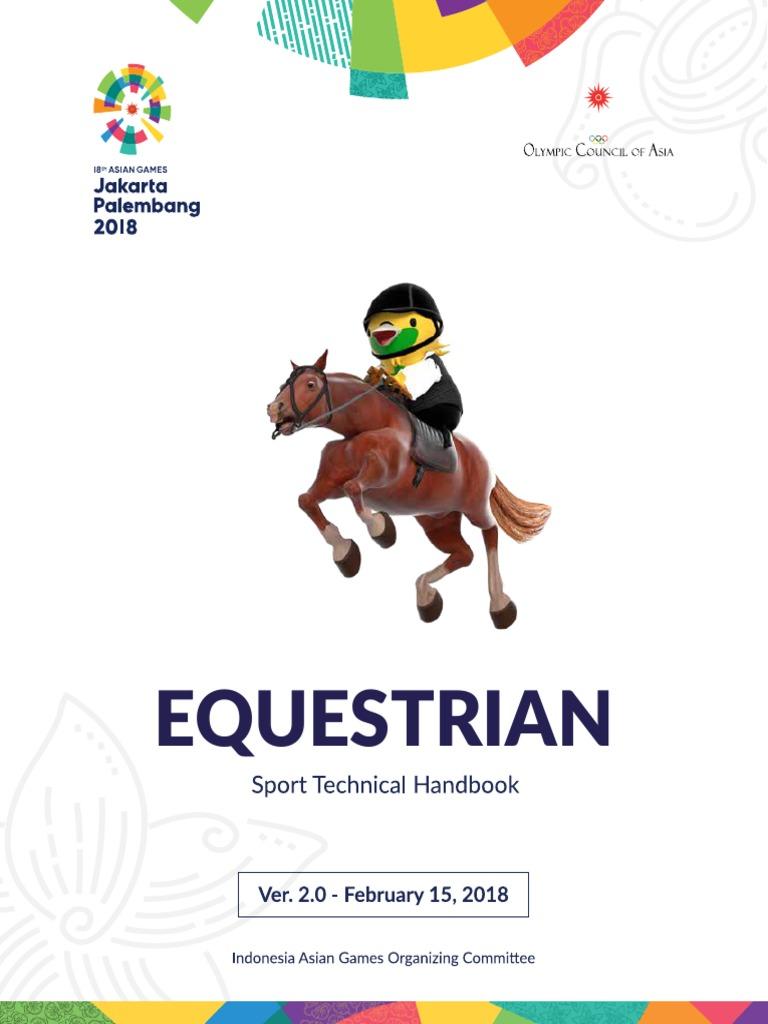Equestrian Technical Handbook The 18th Asian