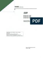 Lista de Peças Ingersoll Rand - EP HP HXP 15-25SE