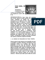 5. LA IGLESIA SANA EN LA UNIDAD.doc
