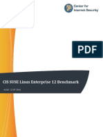 CIS SUSE Linux Enterprise 12 Benchmark v2.0.0