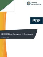 CIS SUSE Linux Enterprise 12 Benchmark v2.0.0