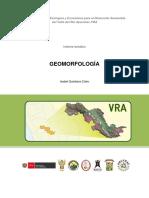 Geomorfología de valle del rio Apurimac y Ene