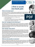 2014 Low Back Pain FULL