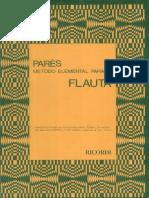 09. JPR504 - Método elemental para flauta - G. Parés.pdf