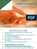 psicopatología del bebé II.ppt