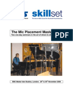 IBS Mic Placement Master Class Course Info