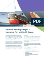 Dynamic Mooring Analysis