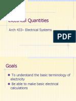 Basic Electrical Understanding