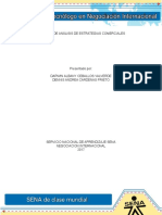 Proceso de Análisis de Estrategias Comerciales