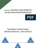 Upaya Preventif Dan Promotif Dalam Kesehatan Reproduksi