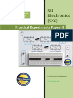 Practical Booklet Paper 2