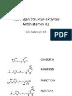 Hubungan Struktur-Aktivitas Antihistamin H2
