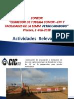 ACTIVIDADES Conexion de Spool 6 en El CPF