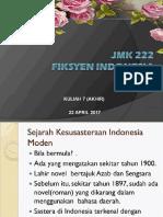 Sejarah Kesusasteraan Indonesia
