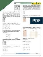 4ª Lista de Exercícios-matemática(Função-revisão)