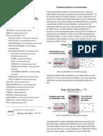 Eficiencia-Micronaje filtracion