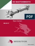 Eixos Cardan Esp 02 Manual Mantenimiento Engrase