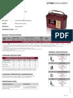 27TMX Trojan Data Sheets