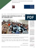 EXERCÍCIOS SOBRE COMPETÊNCIA NO NOVO CPC - TURMA PÓS-GRADUAÇÃO ESA_PE _ Profa.pdf